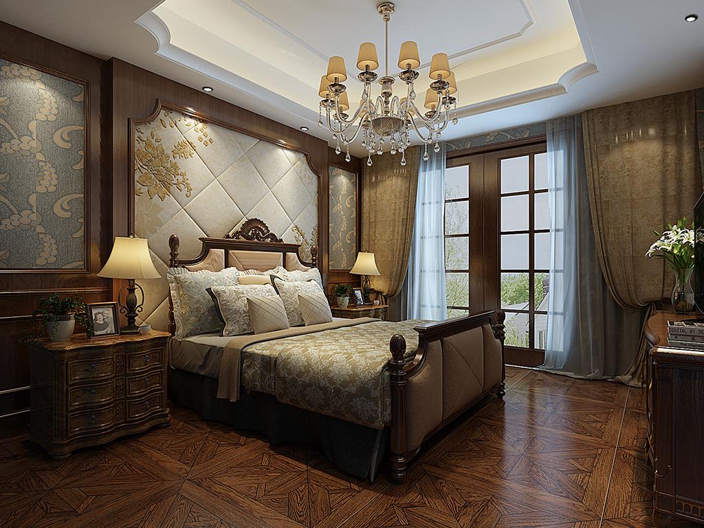 金色江山-卧室