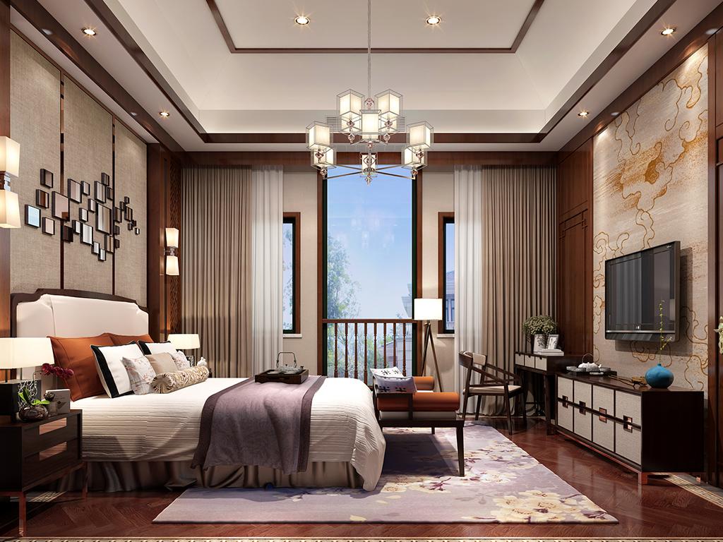 香湖丹堤-卧室