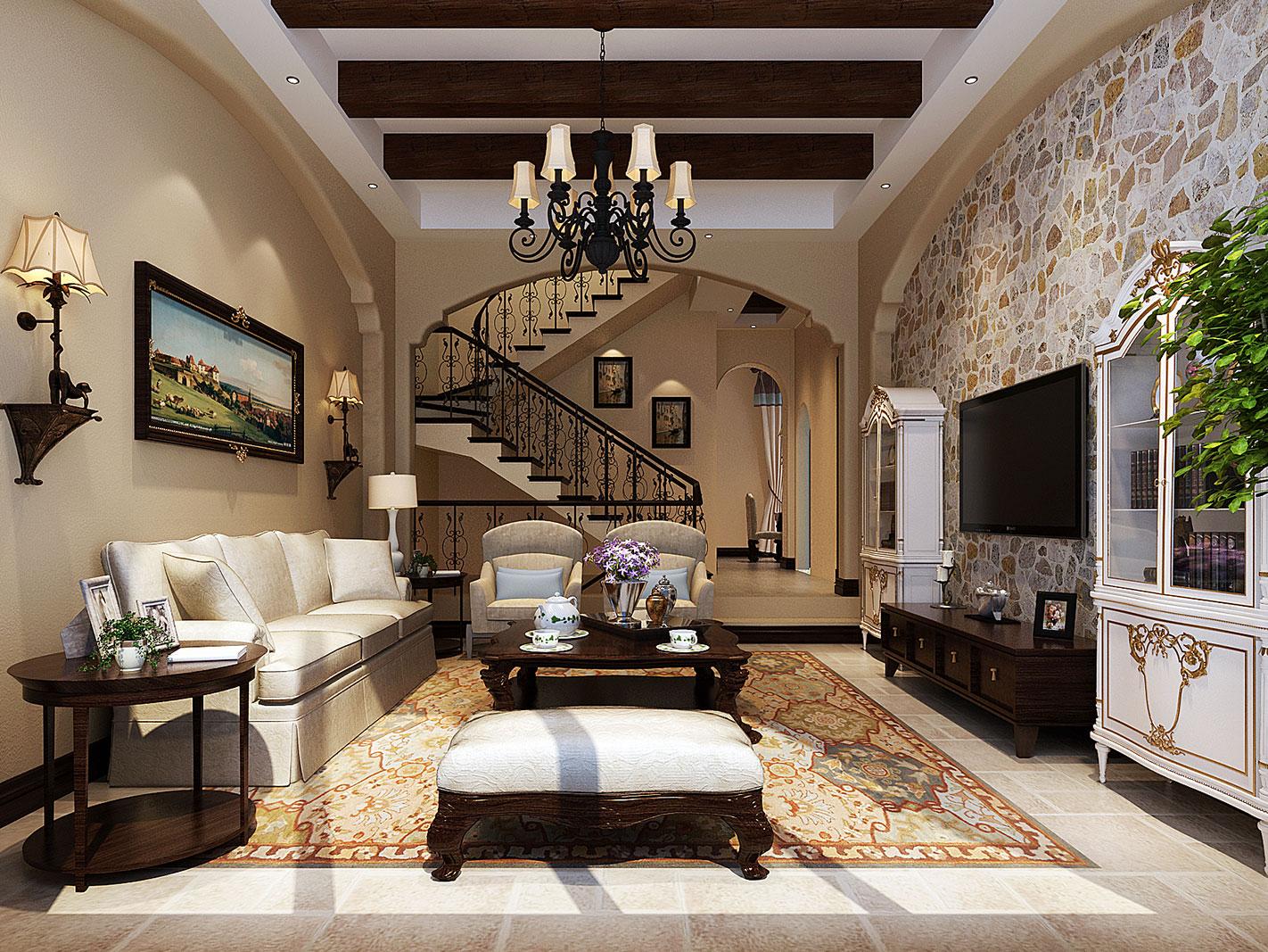 海上威尼斯-客厅