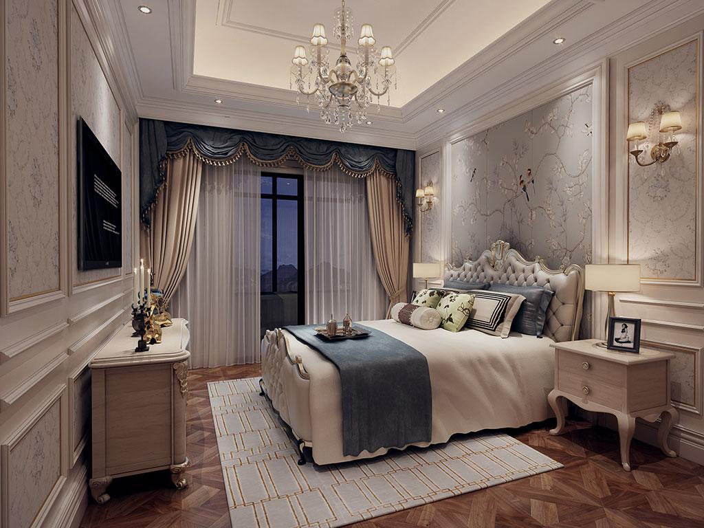 都市华庭-卧室
