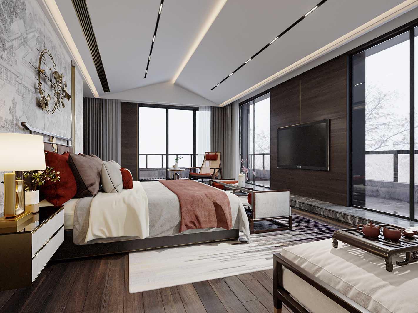 北仑小区-卧室