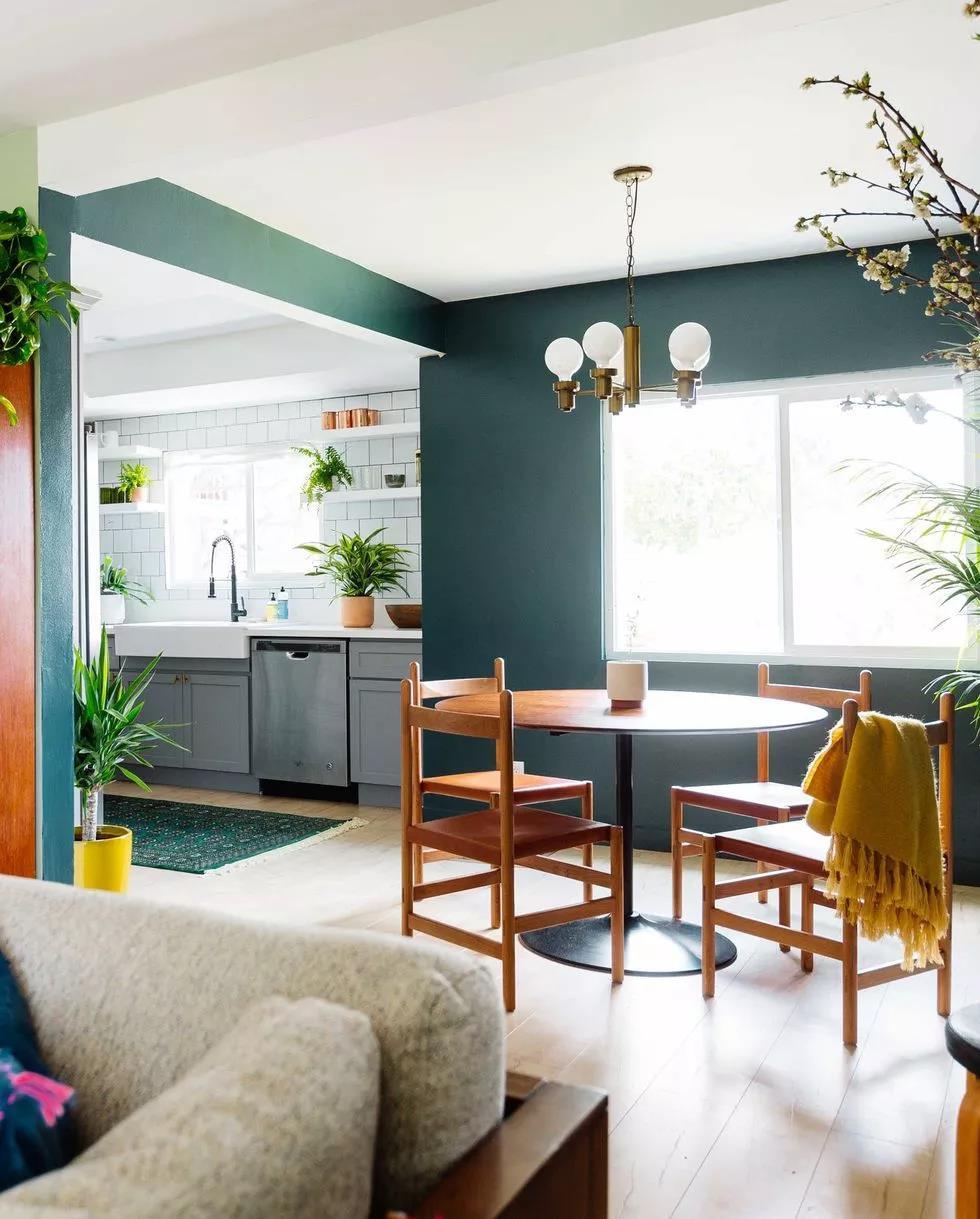 绿色,时尚界的宠儿,提升空间颜值必备